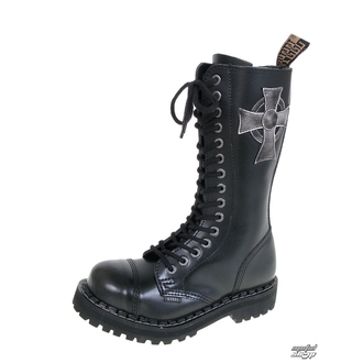 leather boots women's - STEEL - 135/136 CROSS