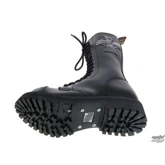 leather boots women's - STEEL - 135/136 CROSS