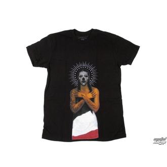 t-shirt street men's - Black Heart Queen - SOMETHING SACRED, SOMETHING SACRED