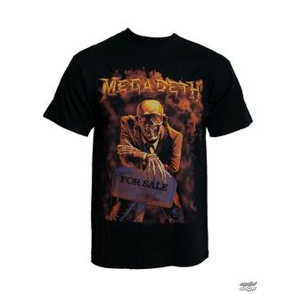 t-shirt metal Megadeth - Peace sells - LIVE NATION - PEMGD002