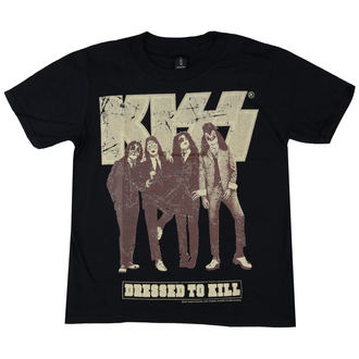 t-shirt metal children's Kiss - Dressed to Kill - LOW FREQUENCY, LOW FREQUENCY, Kiss