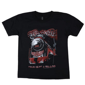 t-shirt metal men's Aerosmith - Train kept a going - LOW FREQUENCY, LOW FREQUENCY, Aerosmith