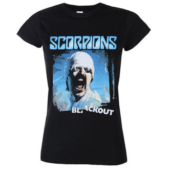 Metal T-Shirt women's Scorpions - Blackout - LOW FREQUENCY - SCTS08027G