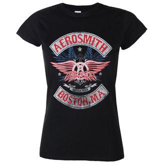t-shirt metal women's Aerosmith - Boston Pride - LOW FREQUENCY, LOW FREQUENCY, Aerosmith