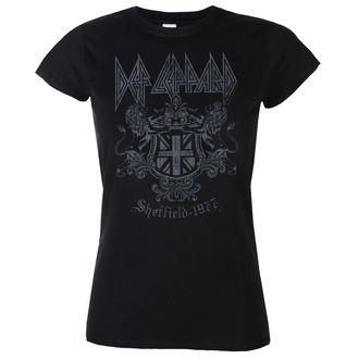 t-shirt metal women's Def Leppard - Sheffield 1977 - LOW FREQUENCY, LOW FREQUENCY, Def Leppard