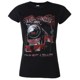 t-shirt metal women's Aerosmith - Train kept a going - LOW FREQUENCY, LOW FREQUENCY, Aerosmith