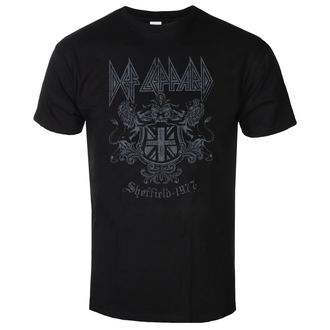 t-shirt metal men's Def Leppard - Sheffield 1977 - LOW FREQUENCY, LOW FREQUENCY, Def Leppard