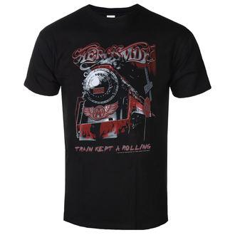 t-shirt metal men's Aerosmith - Train kept a going - LOW FREQUENCY, LOW FREQUENCY, Aerosmith