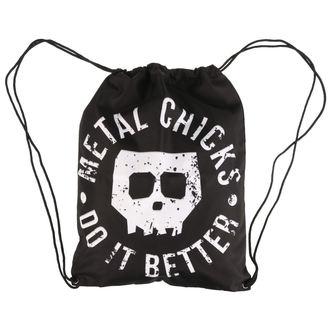 Sackpack METAL CHICKS DO IT BETTER, METAL CHICKS DO IT BETTER