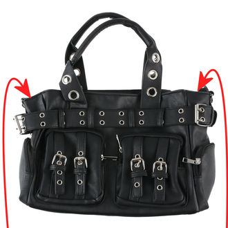 handbag (bag) POIZEN INDUSTRIES - EVE - BLACK - POI265 - DAMAGED, POIZEN INDUSTRIES