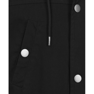 Men's jacket URBAN CLASSICS - Canvas Cotton Parka - black - TB1810