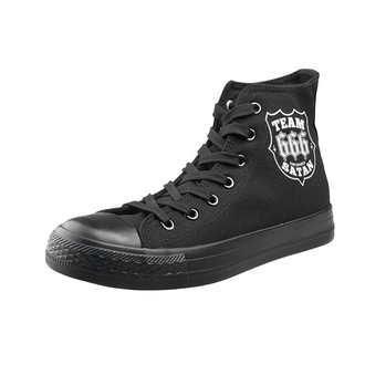 high sneakers unisex - Team Satan - AMENOMEN, AMENOMEN