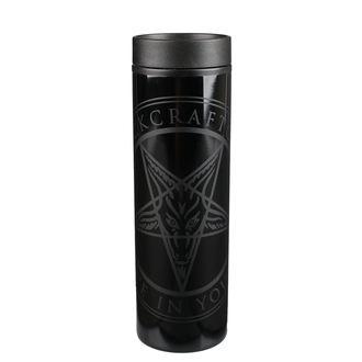 Thermo Mug BLACK CRAFT - Believe In Yourself - Black / Black, BLACK CRAFT