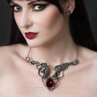 Pendant Necklace ALCHEMY GOTHIC - The Maidens Conquest, ALCHEMY GOTHIC