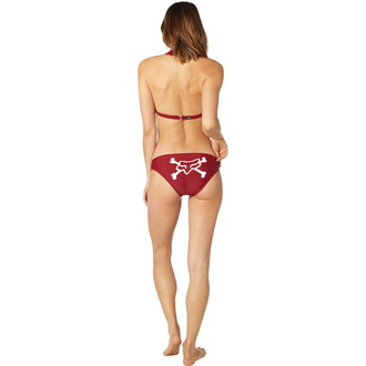 Bikini Women's FOX - Throttle Maniac - Halter - Dark Red, FOX