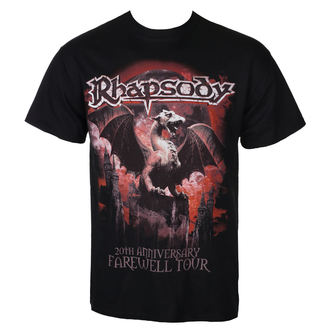 t-shirt metal men's Rhapsody - 20TH ANNIVERSARY - RAZAMATAZ, RAZAMATAZ, Rhapsody