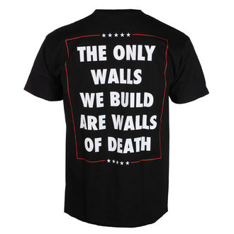 t-shirt metal men's Municipal Waste - The only walls we build - NUCLEAR BLAST, NUCLEAR BLAST, Municipal Waste