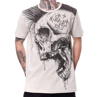 t-shirt hardcore men's - FUCK THE SYSTEM - HYRAW, HYRAW