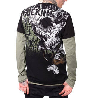 t-shirt hardcore men's - LAND - HYRAW, HYRAW