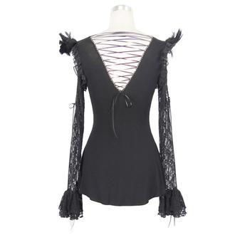 Women's t-shirt with long sleeves DEVIL FASHION - TT021