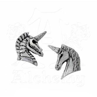 Earrings ALCHEMY GOTHIC - Unicorn Ear Studs, ALCHEMY GOTHIC