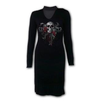 Women's dress SPIRAL - SKULL ROSES, SPIRAL