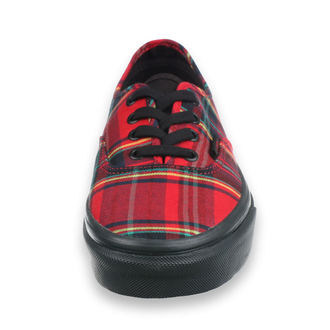 low sneakers unisex - UA Authentic (PLAID MIX) - VANS, VANS