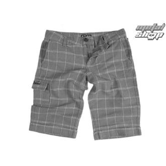 shorts women VANS - Linen Shorties - Carbon Plaid