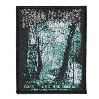 Patch Cradle Of Filth - Dusk And Her Embrace - RAZAMATAZ - SP3033