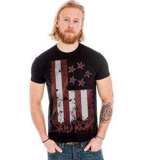 t-shirt metal men's Skid Row - Stars & Stripes - HYBRIS, HYBRIS