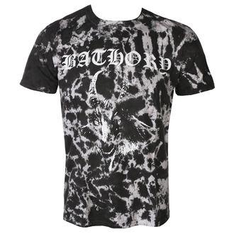 t-shirt metal men's Bathory - GOAT - PLASTIC HEAD - KU013