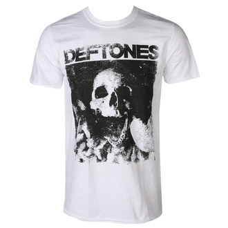 t-shirt men DEFTONES - SKULL - WHITE - PLASTIC HEAD, PLASTIC HEAD, Deftones