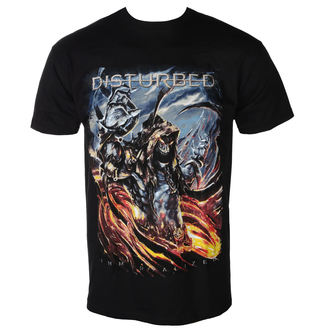 t-shirt metal men's Disturbed - THE END - PLASTIC HEAD