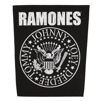 patch large RAMONES - CLASSIC SEAL - RAZAMATAZ, RAZAMATAZ, Ramones