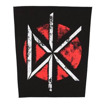 patch large DEAD KENNEDYS - VINTAGE DK LOGO - RAZAMATAZ, RAZAMATAZ, Dead Kennedys