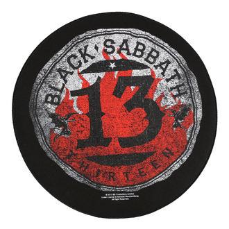 patch large BLACK SABBATH - 13 CIRCULAR - RAZAMATAZ, RAZAMATAZ, Black Sabbath