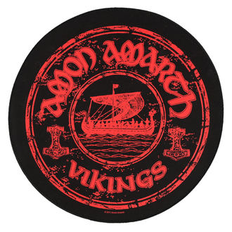 patch large Amon Amarth - Vikings Circular - RAZAMATAZ, RAZAMATAZ, Amon Amarth