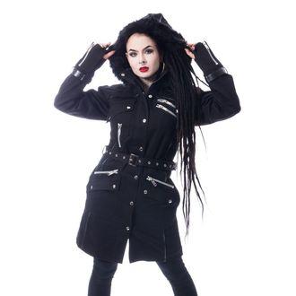 Women's coat Chemical Black - VERSE - BLACK, CHEMICAL BLACK