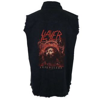 men's sleeveless shirt  (vest) SLAYER - REPENT LESS - RAZAMATAZ, RAZAMATAZ, Slayer