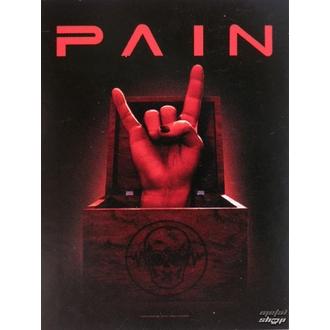 flag Pain HFL 0973, HEART ROCK, Pain