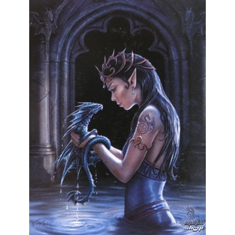 flag Anne Stokes - Water Dragon, ANNE STOKES, Anne Stokes