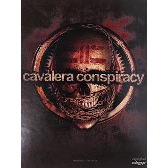 flag Cavalera Conspiracy HFL 0971, HEART ROCK, Cavalera Conspiracy