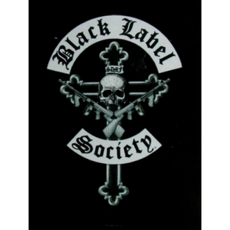 flag Black Label Society - Crucifix, HEART ROCK, Black Label Society