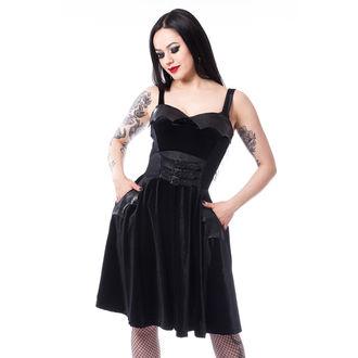 Women's dress HEARTLESS - CONSPIRE - BLACK, HEARTLESS