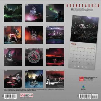 Calendar for year 2019 SOUNDGARDEN, NNM, Soundgarden