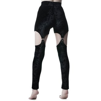 Women's trousers (leggings)  KILLSTAR - Nina - BLACK, KILLSTAR
