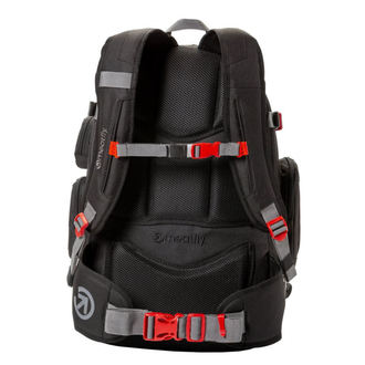 Backpack MEATFLY - WANDERER 4 - B - Black, MEATFLY