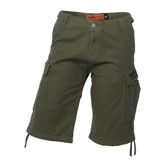 Men's shorts WEST COAST CHOPPERS - CARGO - Olive green, West Coast Choppers
