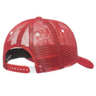 Cap WEST COAST CHOPPERS - CLUTCH LOGO ROUND BILL - Red - WCCPT138RD