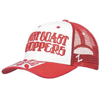 Cap WEST COAST CHOPPERS - CLUTCH LOGO ROUND BILL - Red, West Coast Choppers